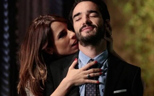 Não faltou química para Caio Blat e Maria Ribeiro interpretarem o casal José Pedro e Danielle