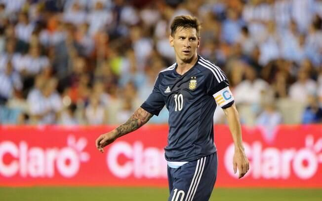 Capitão da seleção argentina, Messi não estará nos jogos por conta do calendário apertado