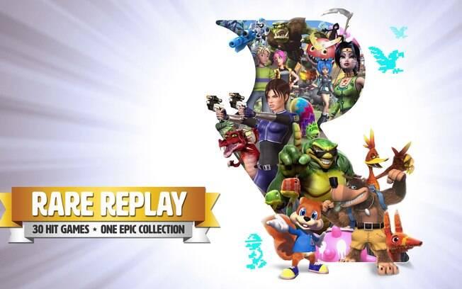 Banjo-Kazooie e Battletoads estão na coletânea Rare Replay