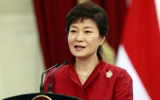 Park Geun-Hye, presidente da Coreia do Sul, é alvo de um escândalo político
