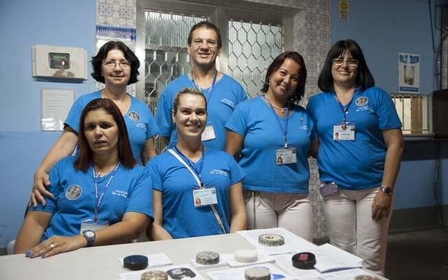 São 2000 voluntários no Lar de Frei Luiz. Foto: Selmy Yassuda