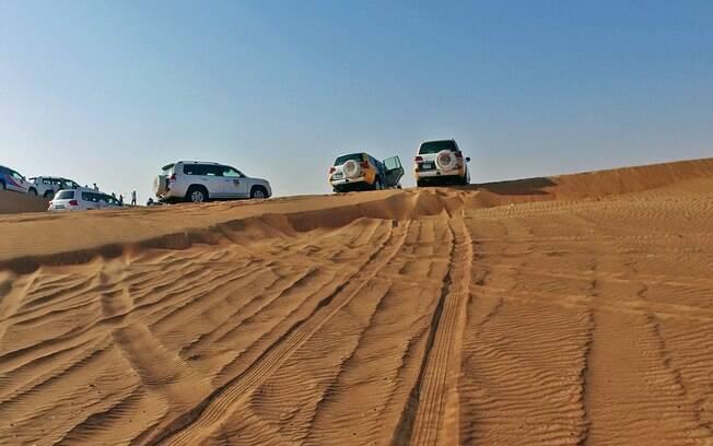 Rally no deserto é um dos passeios imperdíveis