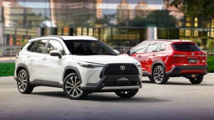 Apesar do pouco tempo de mercado, Toyota Corolla Cross já é o principal produto da marca no Brasil