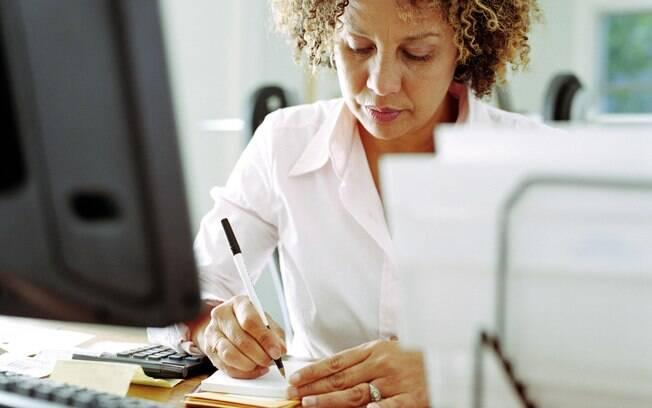 """Faça um """"mapa"""" ou lista das tarefas do dia antes mesmo de começar a fazer qualquer coisa"""