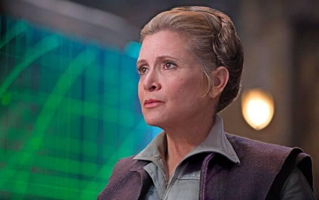 Carrie Fisher em ''Star Wars%3A O Despertar da Força''