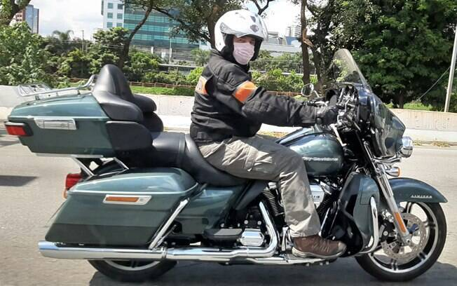 Devolvendo a Harley-Davidson Ultra Limited ao seu dono. Foto: Divulgação