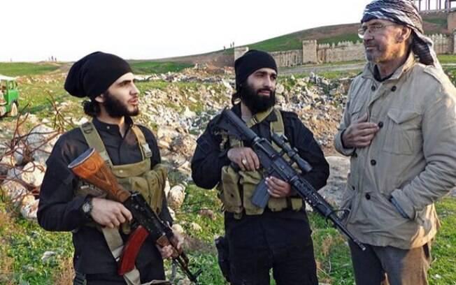 Jornalista alemão passou 10 dias com o Estado Islâmico