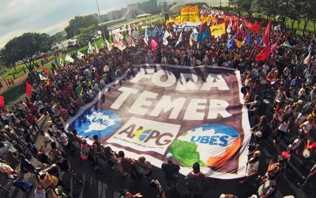 Ato contra Michel Temer é organizado desde a revelação de conversas entre o presidente e Joesley Batista