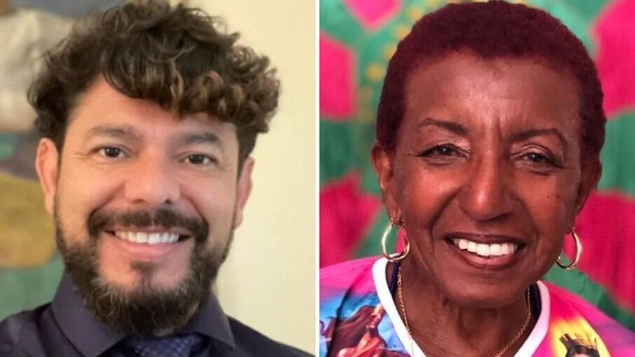 Caio Evangelista e Leci Brandão