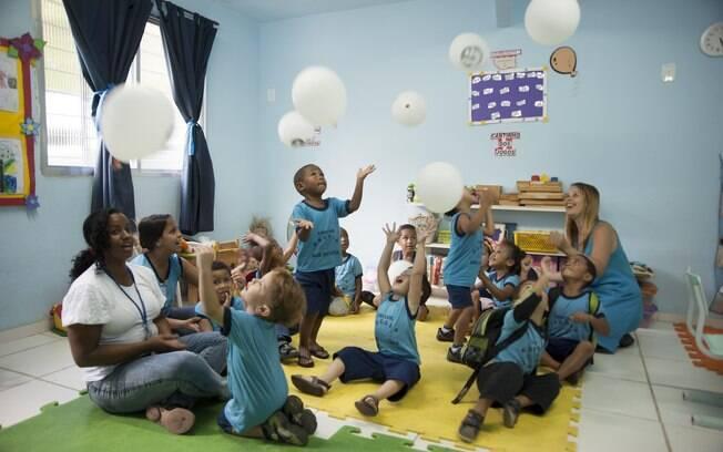 A creche atende crianças de 0 a 4 anos. Foto: Selmy Yassuda