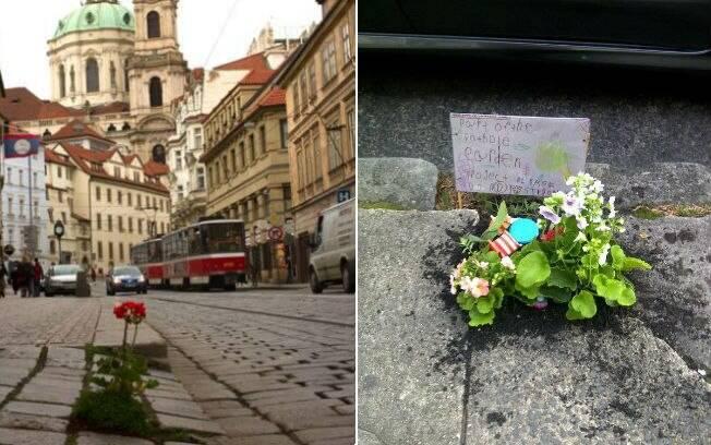 Melhore a cidade onde mora. Essa é a ideia por trás do projeto The Pothole Garden, que enfeita buracos em Londres. Foto: Divulgação/The Pothole Garden