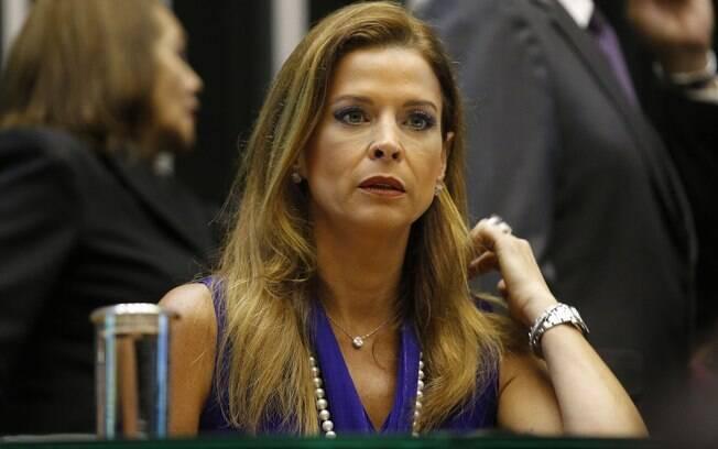 Cláudia Cruz, mulher de Eduardo Cunha