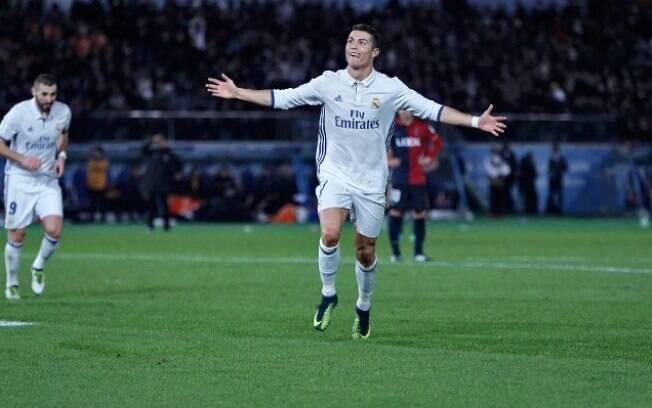 Cristiano Ronaldo marcou três gols para o Real Madrid na final do Mundial de Clubes