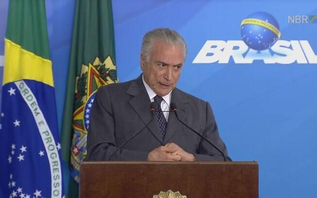 Presidente Michel Temer voltou a pedir agilidade nas investigações sobre delações premiadas da Odebrecht