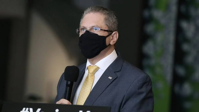 Jean Gorinchteyn, Secretary of Health for the Government of São Paulo