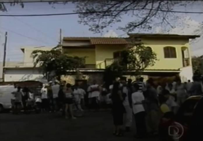 Casa dos sequestradores de Patrícia Abravanel. Foto: Globo