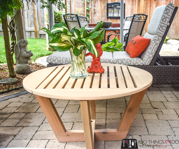 patio coffee table 100 things 2 do