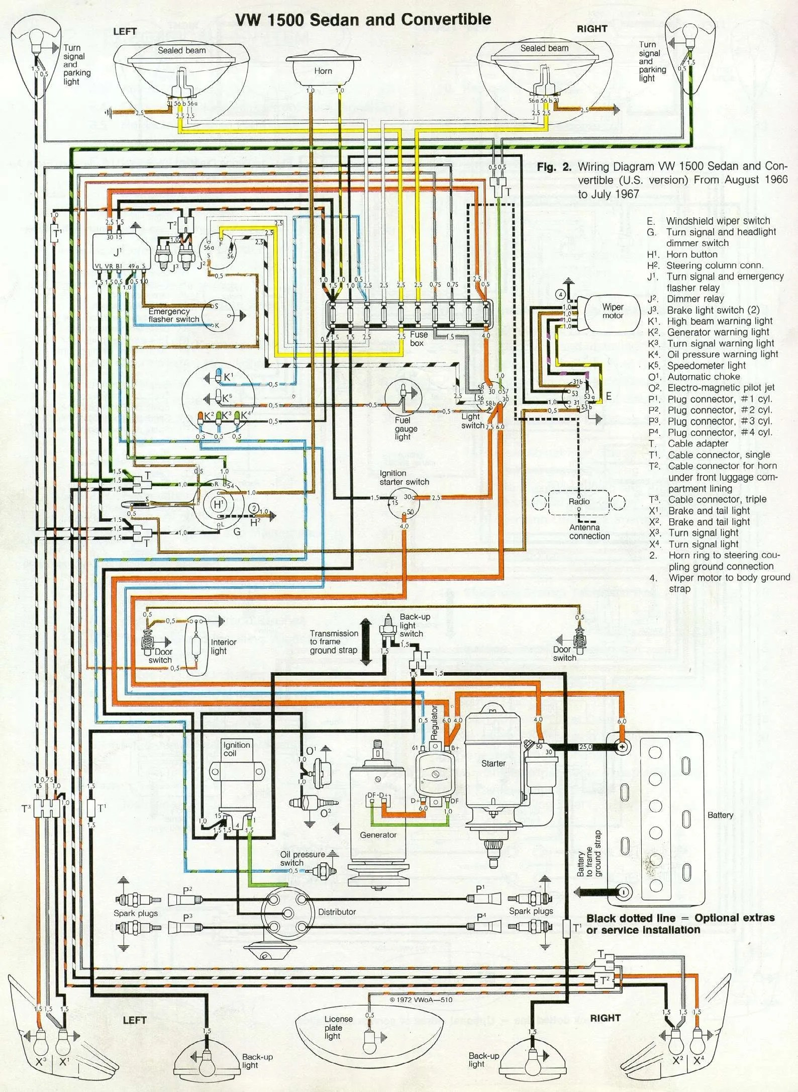 hight resolution of 67 beetle wiring diagram u s version 1967 vw beetle 1967 vw bug wiring diagram wiring diagram 1967 vw bug