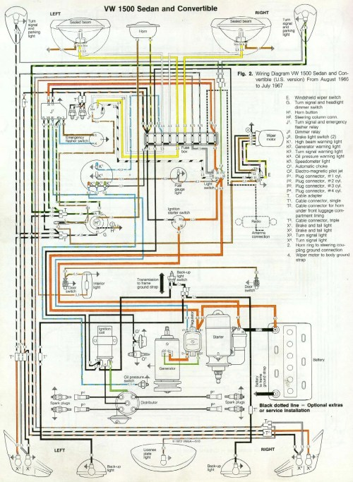 small resolution of 67 beetle wiring diagram u s version 1967 vw beetle 1967 vw bug wiring diagram wiring diagram 1967 vw bug