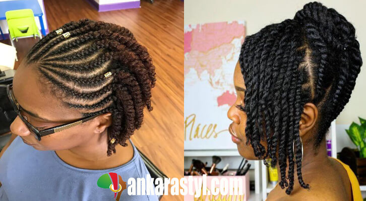39 Best Flat Twists Hairstyles For Black Natural Hair To Try