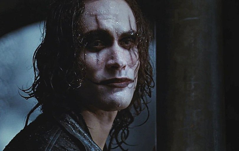 brandon lee the scene