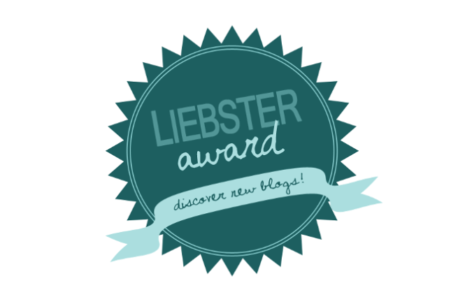 Liebster Blog Award...