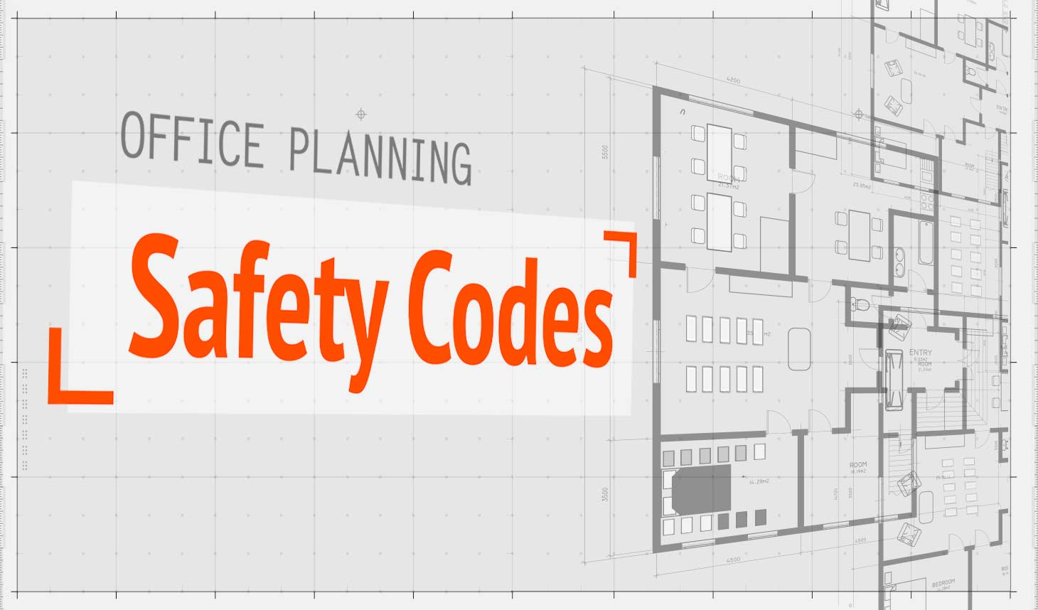 hight resolution of office planning fire safety codes