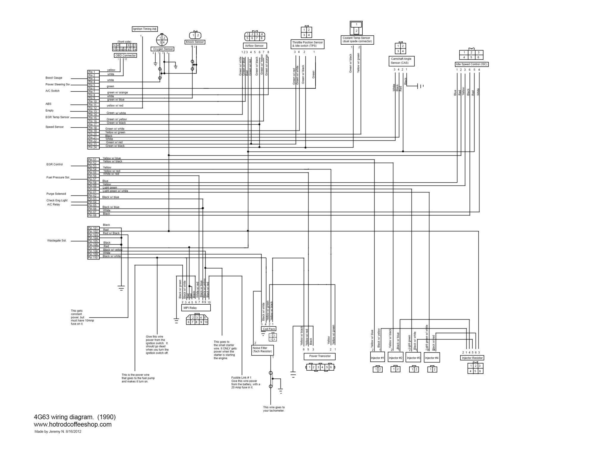 small resolution of hight resolution of here is a 2g 4g63 dsm wiring diagram that brendon m made
