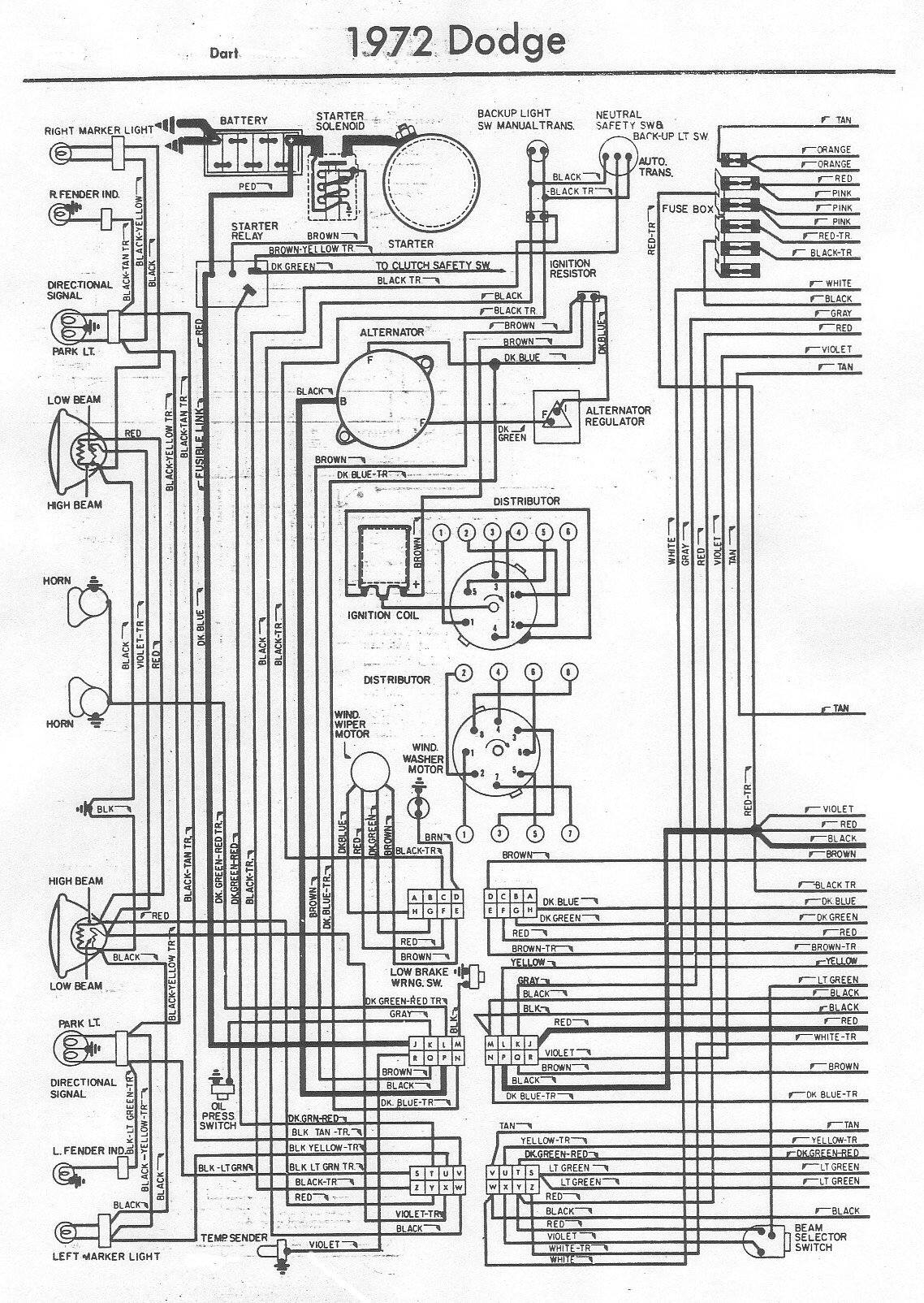 hight resolution of 1972 dodge demon wiring diagrams basic electronics wiring diagram 1970 dodge truck wiring diagrams most searched