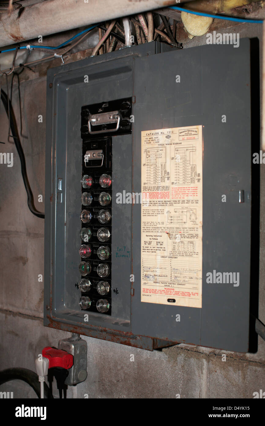 small resolution of vintage fuse box house