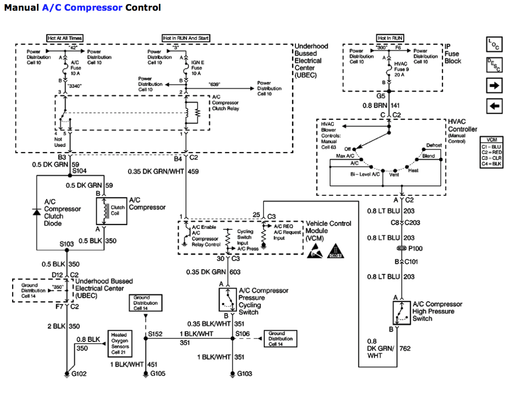 hight resolution of 2012 ford escape air conditioning wiring diagram