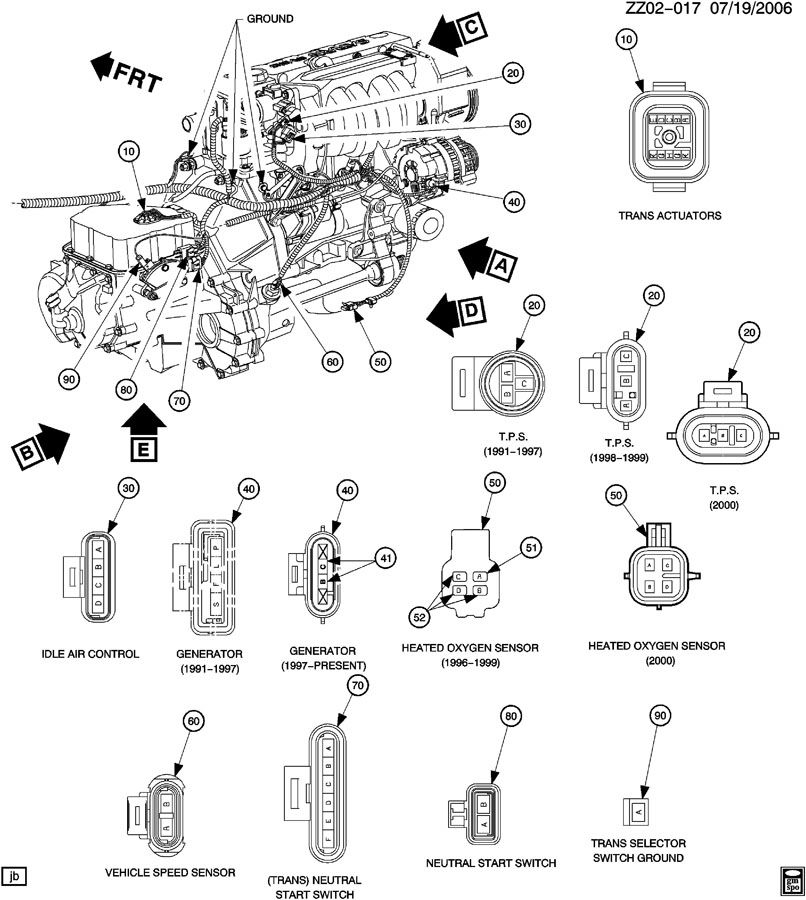 98 saturn wiring harness diagram