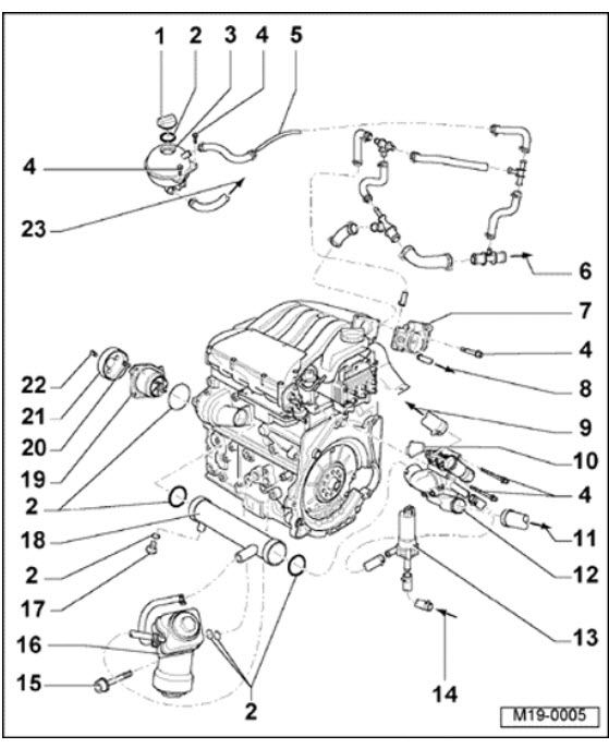 1996 vw jetta engine diagram