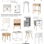 20 Of The Best Minimal Scandi Style Bedside Tables Cate St Hill