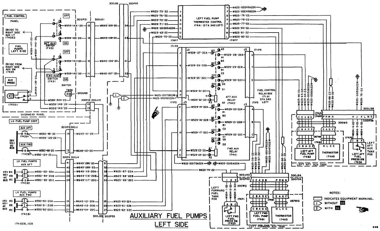 hight resolution of fuel boost pumps wiring diagram continued
