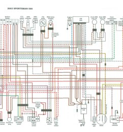 1999 sportsman 500 wiring diagram 1999 sportsman 500 parts [ 1994 x 1481 Pixel ]