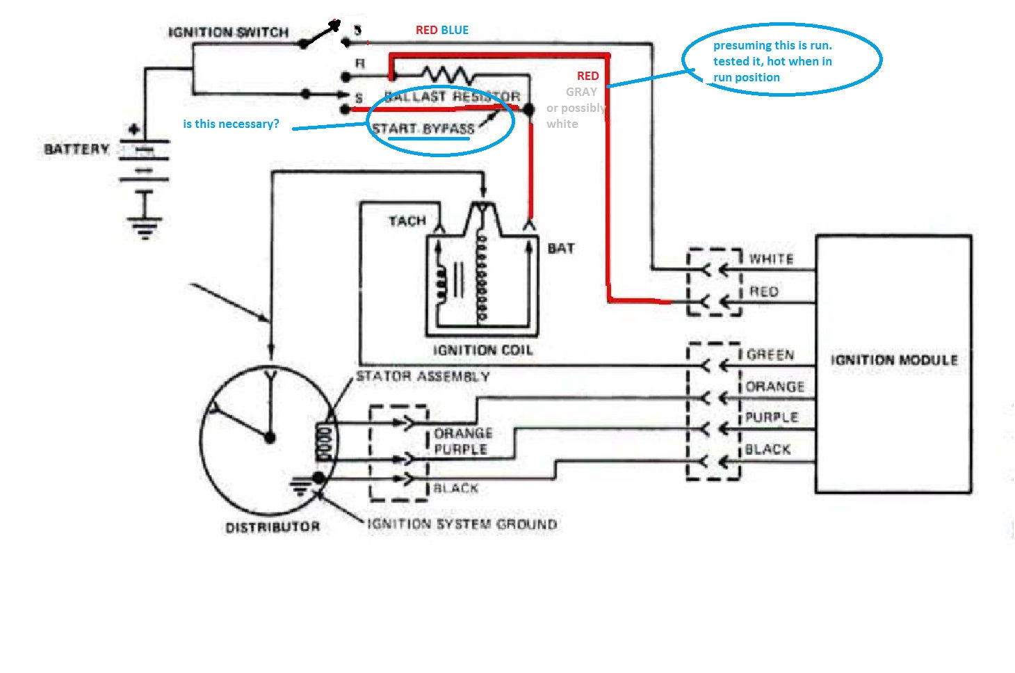 hight resolution of 87 ford ignition system wiring diagram wiring diagram view ford 351 ignition wiring