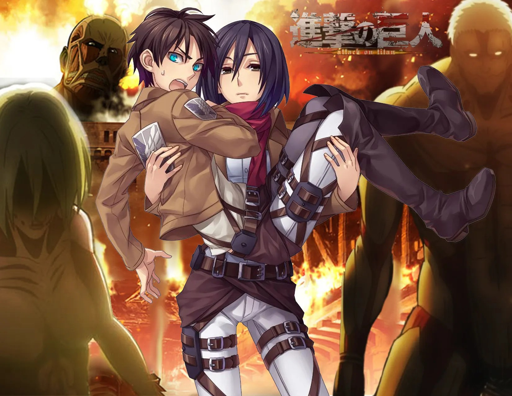 Attack On Titan Before The Fall Wallpaper 8 Fantastic Attack On Titan Wallpapers Daily Anime Art