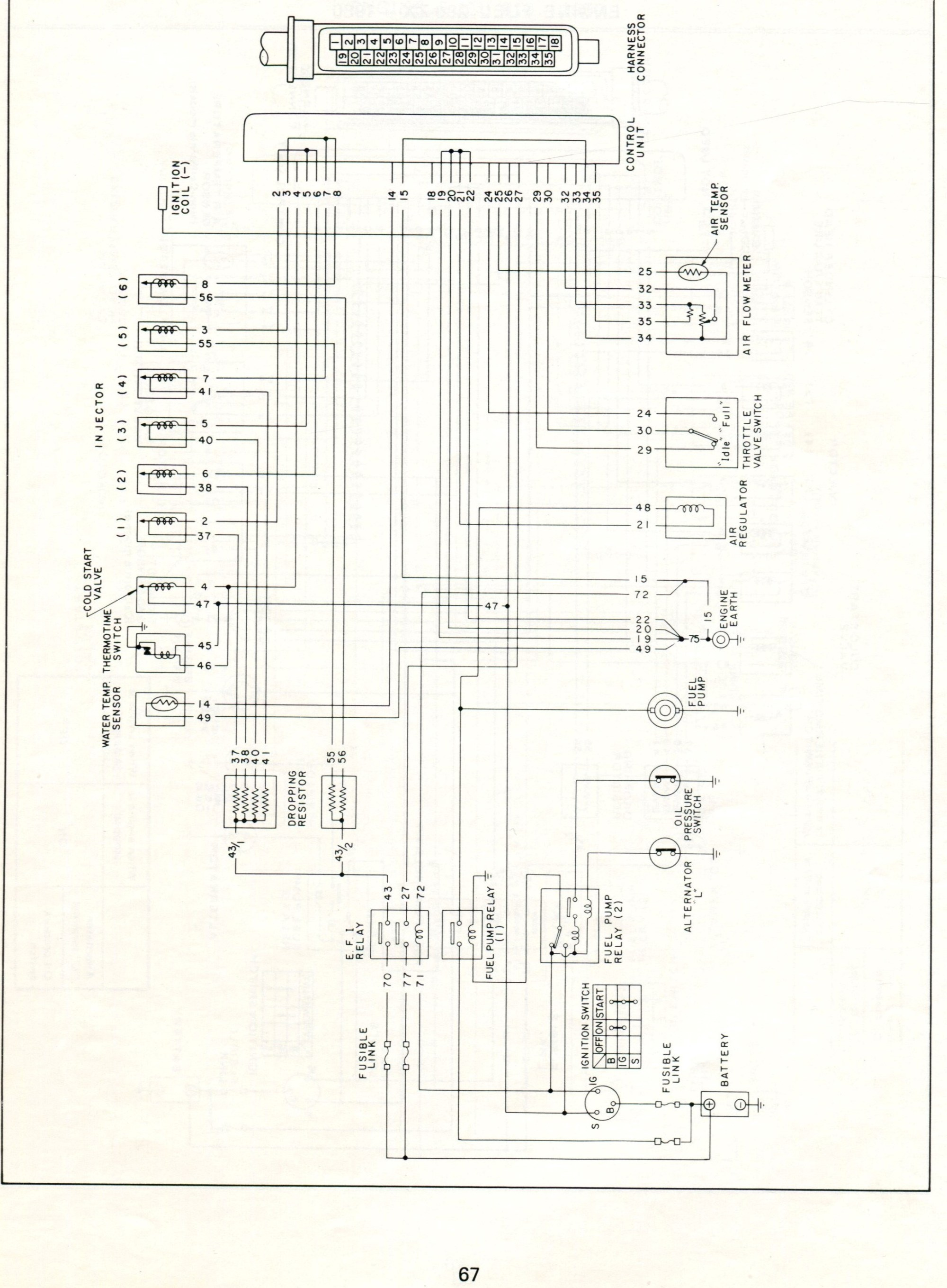 hight resolution of 78 280z wiring diagram datsun electronic fuel injection