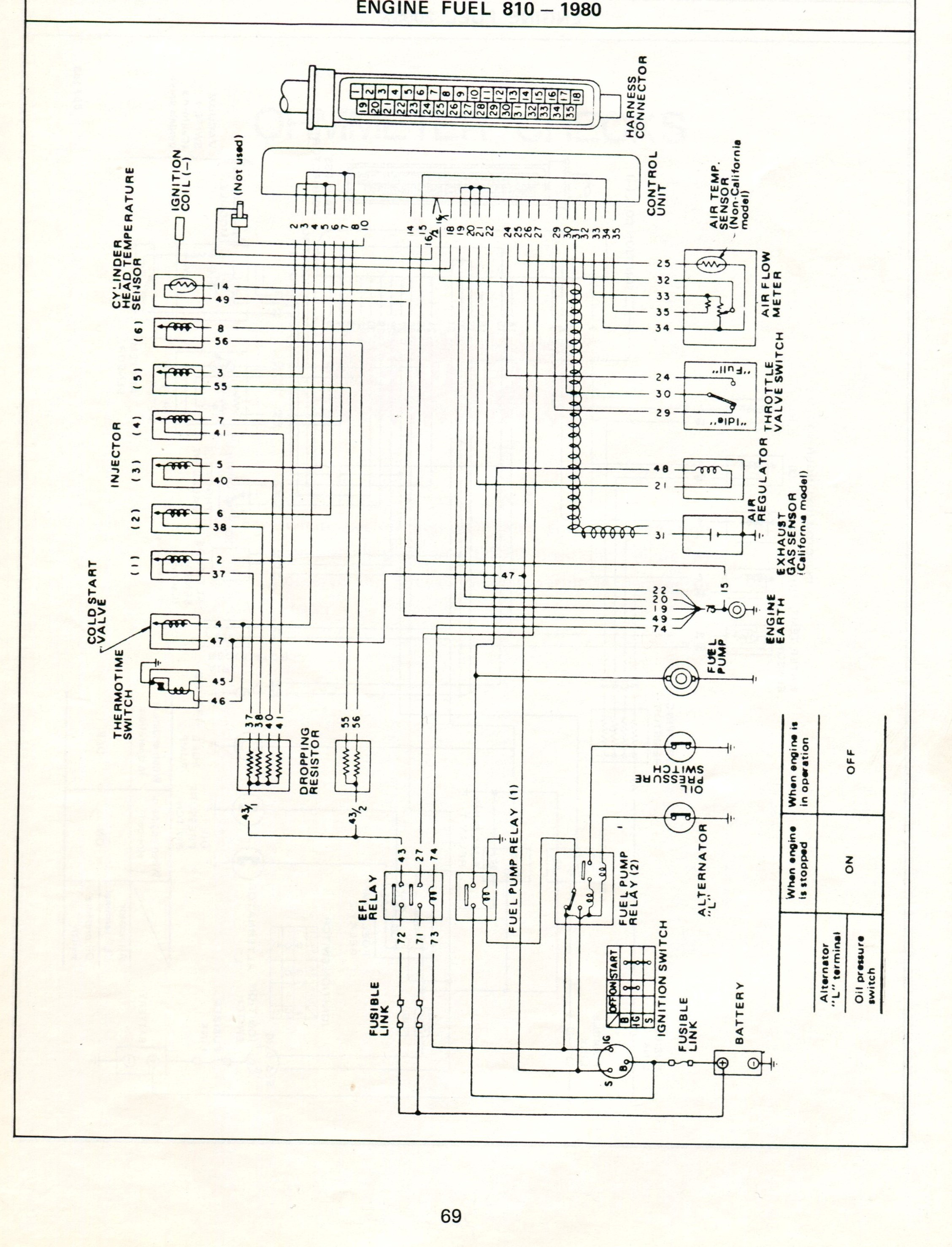 1979 280zx wiring diagram wiring diagram page datsun electronic fuel injection wiring diagrams [ 2256 x 2955 Pixel ]
