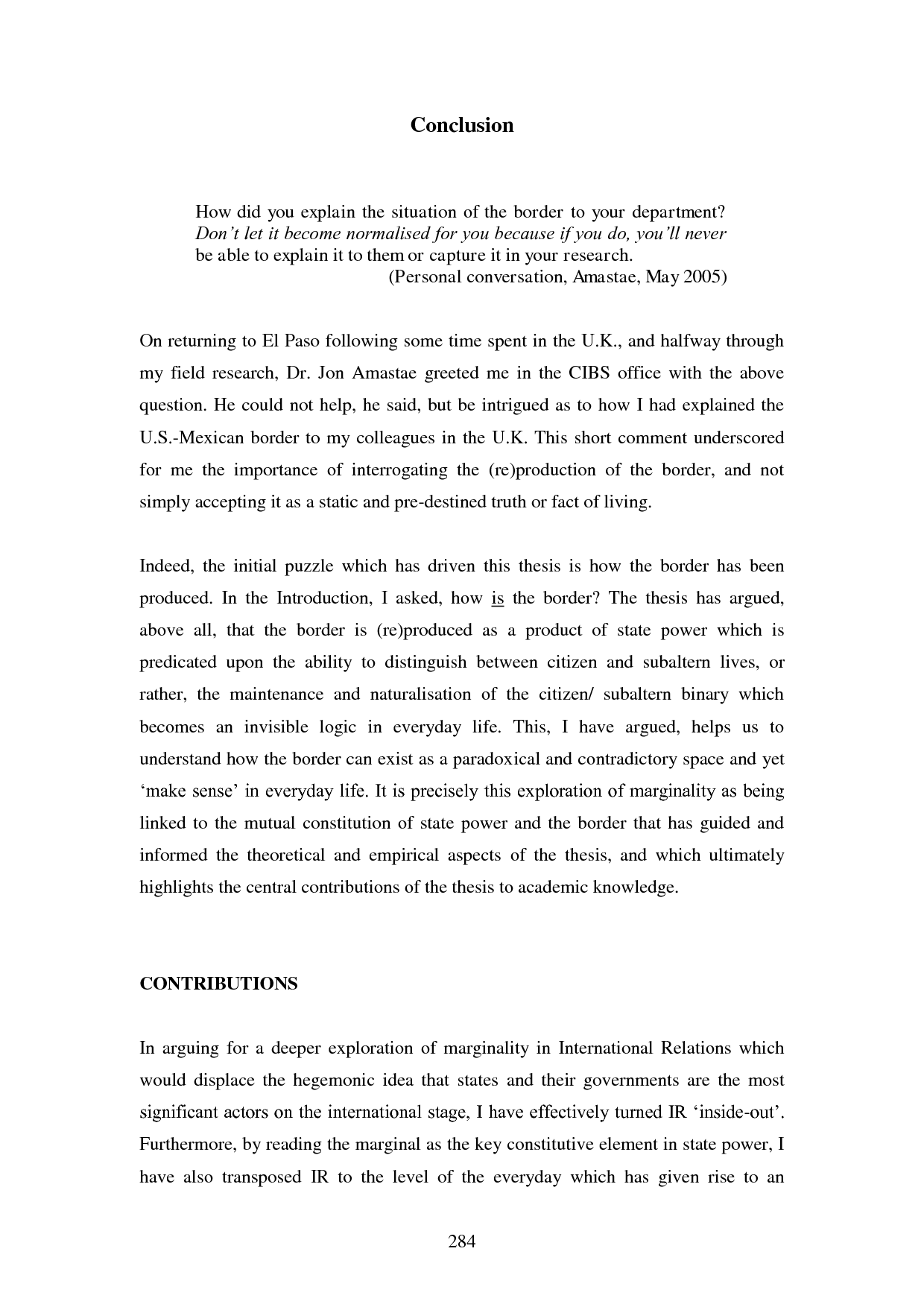 Mla Research Paper Conclusion Example