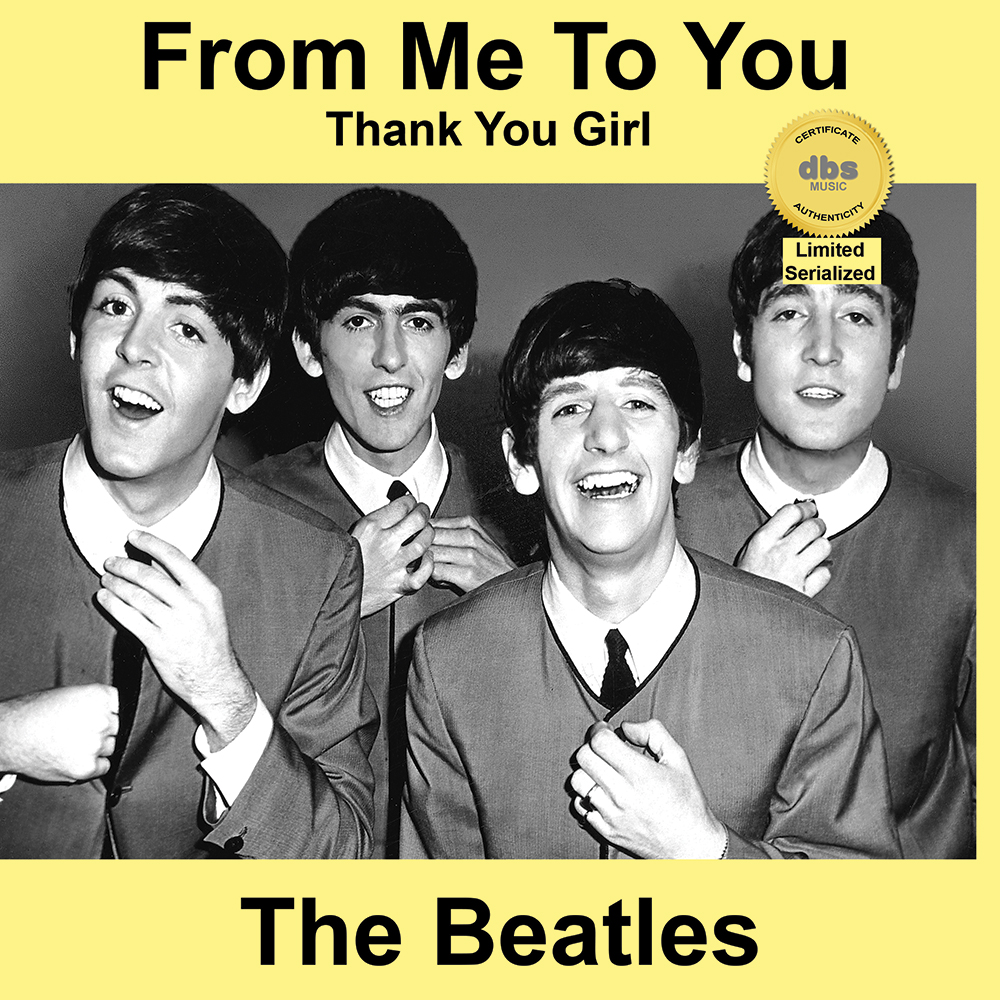 beatles from me to