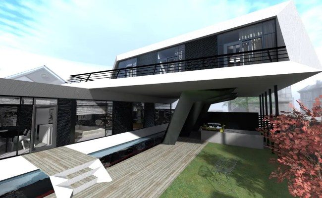 Is House A Futuristic Modern Concept Designed By Steep