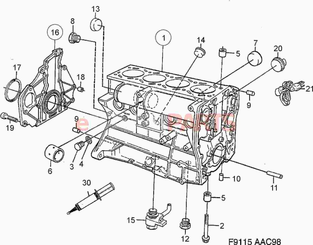 medium resolution of 99 camry engine diagram