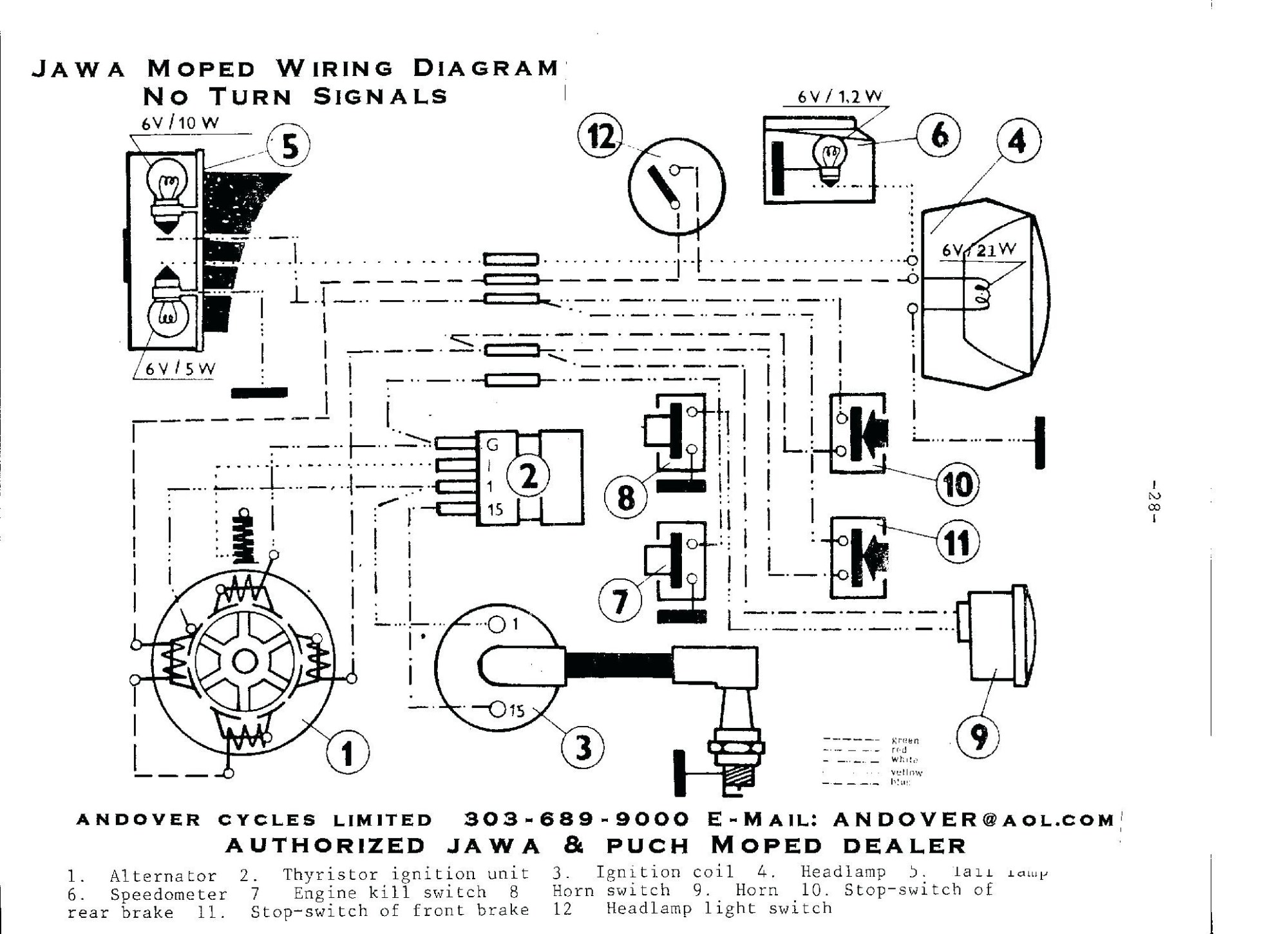 hight resolution of related with jawa wiring diagram