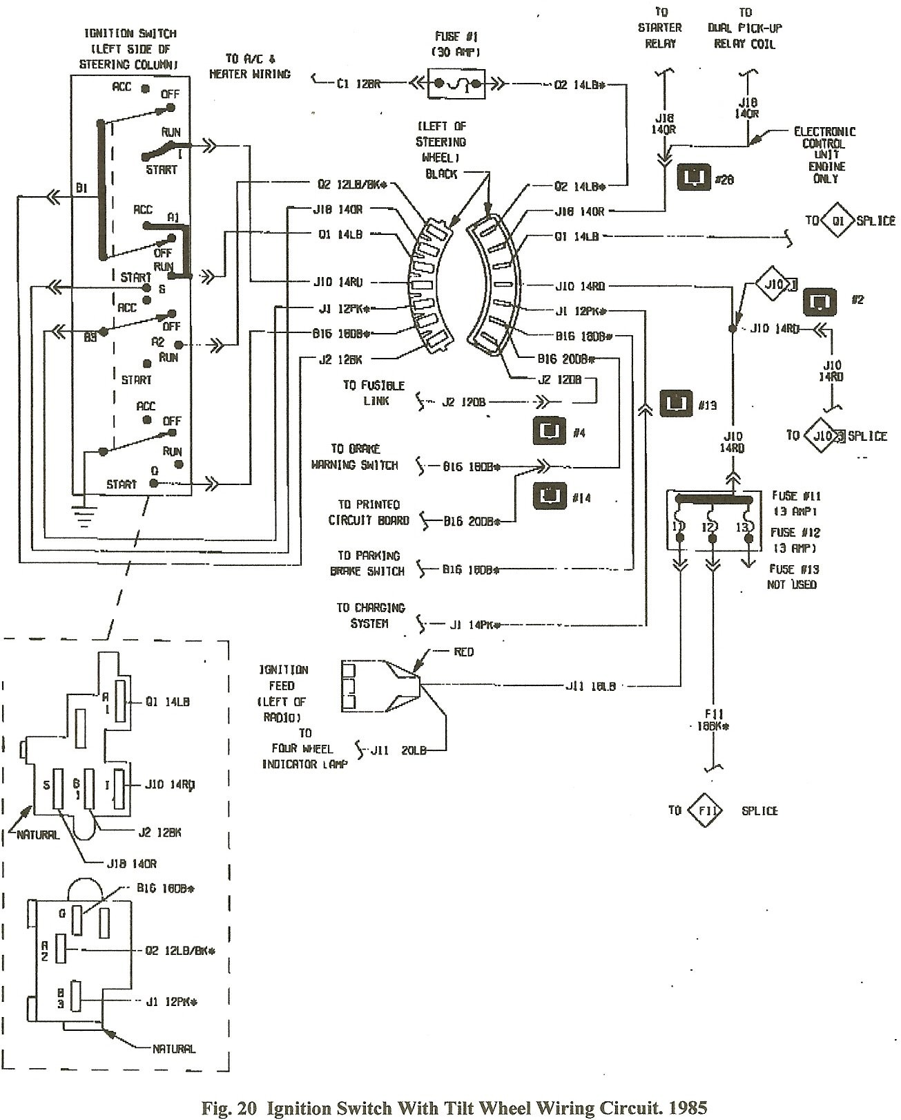 small resolution of 1984 dodge pickup wiring diagram wiring library diagram a4 dodge charger engine harness schematic 1984 dodge charger wiring diagram