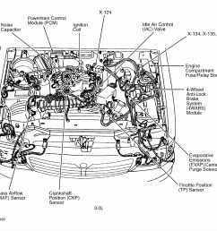 2000 ford taurus dohc engine diagram also 2000 ford ranger 3 0 head 1999 ford taurus [ 1815 x 1658 Pixel ]