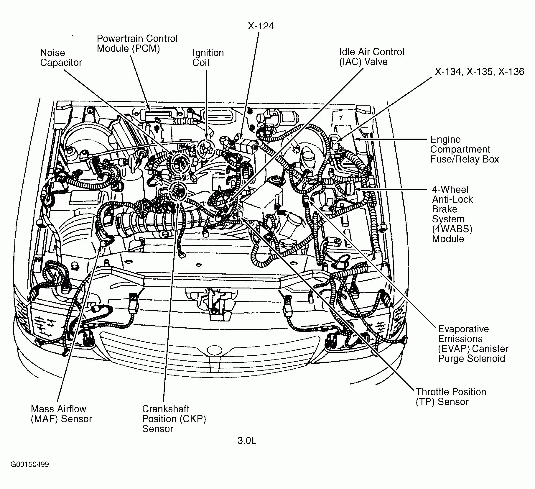 hight resolution of location 2001 ford mustang on 2008 gmc acadia 3 6 engine diagram 2001 ford mustang gt engine diagram 2001 mustang engine diagram