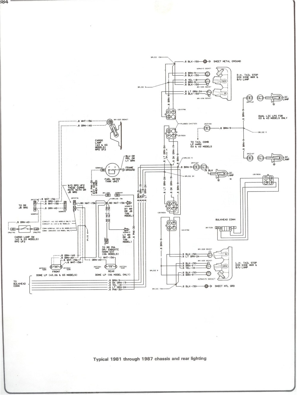 medium resolution of 82 chevy c10 fuse diagram wiring diagram forward 1982 chevy silverado stereo wiring diagram