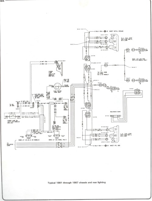 small resolution of 82 chevy c10 fuse diagram wiring diagram forward 1982 chevy silverado stereo wiring diagram